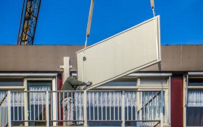Prefab polyester balkon incl. anti-sliplaag | Sliedrecht