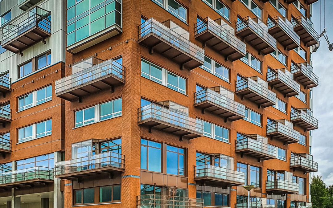 Lichtgewicht polyester balkons | Amsterdam