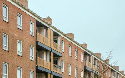 Polyester overzet balkons en schoorsteenkappen