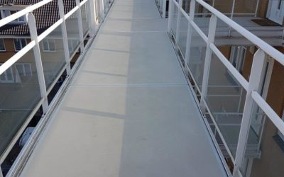 Lichtgewicht polyester balkons – balkonvloeren