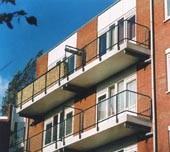 Lichtgewicht polyester balkon