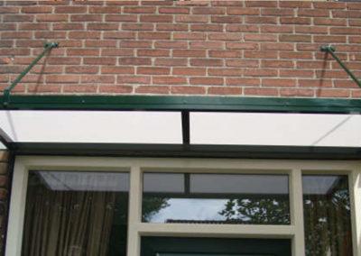 Polycarbonaat deurluifels